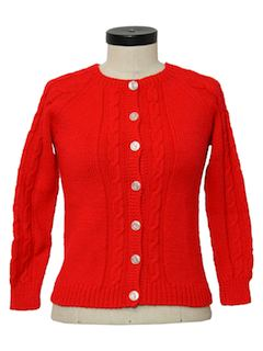 1970's Womens or Girls Sweater