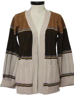 1980's Womens Hippie Style Sweater