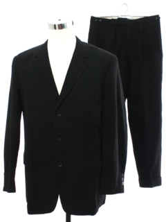 1960's Men Wool Suit