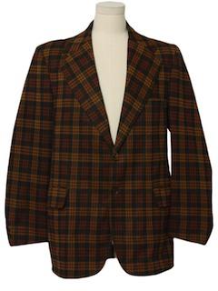 1970's Mens Mod Sport Jacket