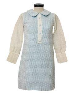 1960's Womens A-line Dress