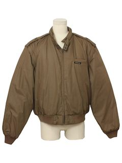1980's Mens Lined Puffy Members Only Jacket