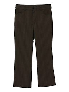 1960's Mens Mod Flared Pants