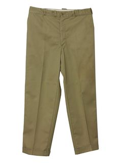 1960's Mens Mod Work Pants