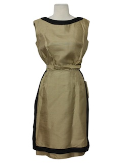 1950's Womens New Look Semi-Formal Cocktail Dress