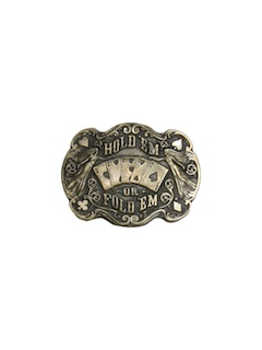 1980's Unisex Accessories - Belt Buckle