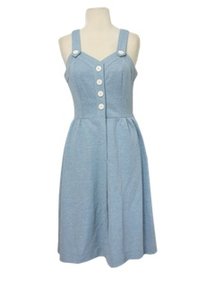 1970's Womens Hippie Sun Dress