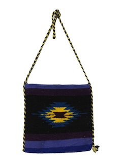 1980's Womens Hippie Purse
