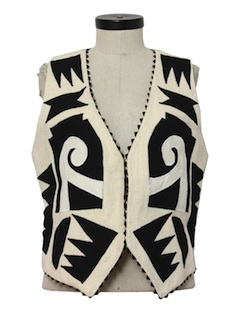 1990's Womens Hippie Style Vest