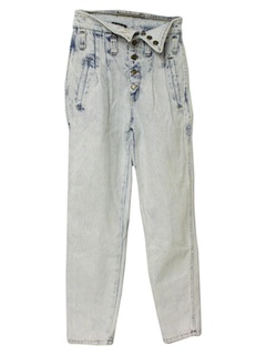 1990's Womens Acid Wash Jeans Pants