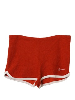 1970's Mens Terry Cloth Shorts