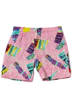 1980's Mens Boys Board Shorts