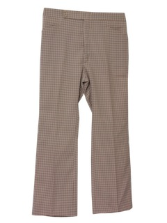 1970's Mens Disco Leisure Pants