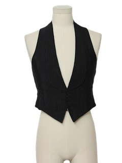 1940's Mens Formal Suit Vest