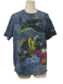 1990's Mens Animal/Nature T-Shirt