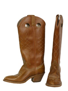 1970's Womens Accessories - Western Boots Shoes