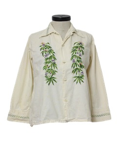 1970's Womans Hippie Shirt