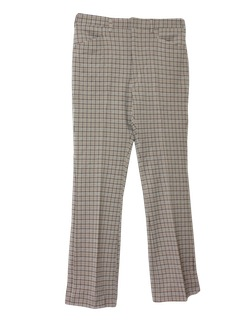 1970's Mens Flared Leg Leisure Pants