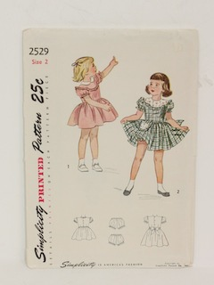 1950's Childs/Girls Pattern
