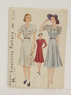 1930's Womens Pattern