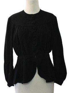 1940's Womens Fabulous Forties Cocktail/Evening Jacket
