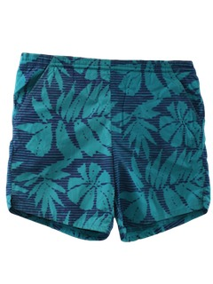 1990's Mens Hawaiian Wicked 90s Swim Shorts