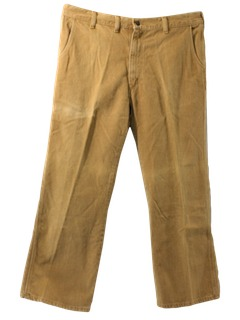 1970's Mens Jeans-Cut Flared Pants