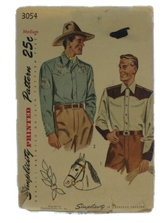 1940's Mens Shirt Pattern