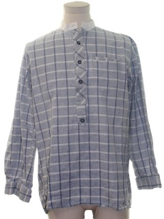 1990's Mens Reproduction Western Shirt