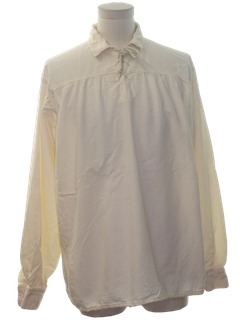 1920's Mens Reproduction 1800s Style Western Shirt