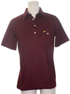 1990's Mens Golf Animal Logo Polo Shirt
