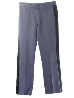 1980's Mens Military Style Work Pants