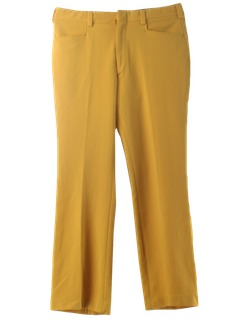 1970's Mens Leisure Pants
