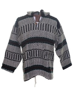 1980's Mens Baja Style Hippie Jacket