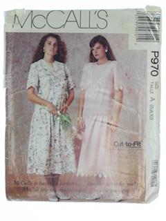 1990's Womens Pattern