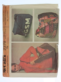 1970's Womens Craft Pattern