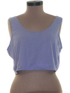 1990's Womens Crop Top Shirt