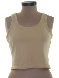 1980's Womens Crop Top Shirt
