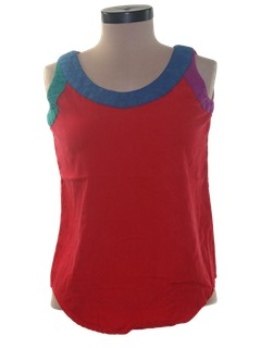 1990's Womens Wicked 90s Tank Top Shirt