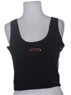 1990's Womens Wicked 90s Crop Top Tank Top Shirt