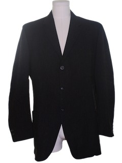 1960's Mens Mod Wool Blazer Sport Coat Jacket