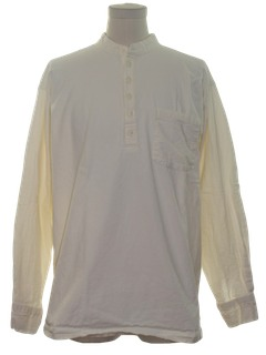 1990's Mens Hippie Tunic Shirt