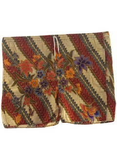 1980's Mens Hippie Shorts