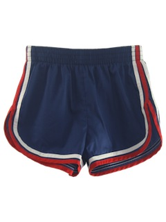 1980's Mens Totally 80s Gym Shorts