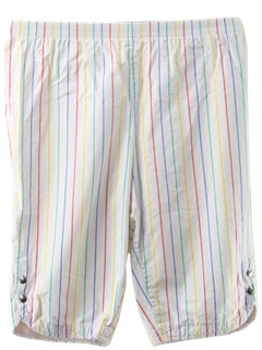 1980's Womens Totally 80s Capri Pants