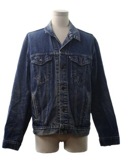 1970's Mens Grunge Denim Jacket