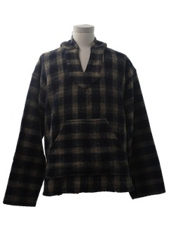 1990's Mens Baja Style Hippie Jacket