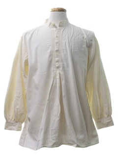 1990's Mens Poet Hippie Shirt