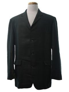 1960's Mens Mod Western Sport Coat Blazer Jacket