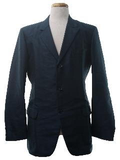 1960's Mens Mod Semi-Formal Sport Coat Blazer Jacket